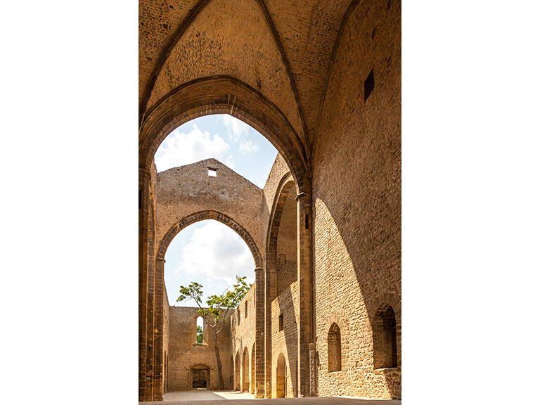 Santa Maria dello Spasimo: at the adge of the sky